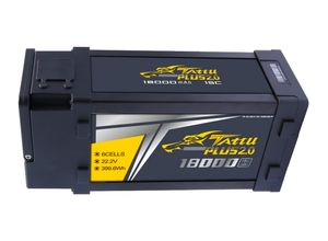 Gens Ace Tattu PLUS 2.0 18000mAh 6S 15C 22.2V Lipo аккумулятор (103612)