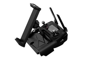 Anbee Aluminum Base Foldable 4-12 Inch Cell Phone / Tablet Extended Holder Mount for DJI Mavic Air / Mavic Pro & DJI Spark Drone Remote Controller, Free Neck Strap (106097)